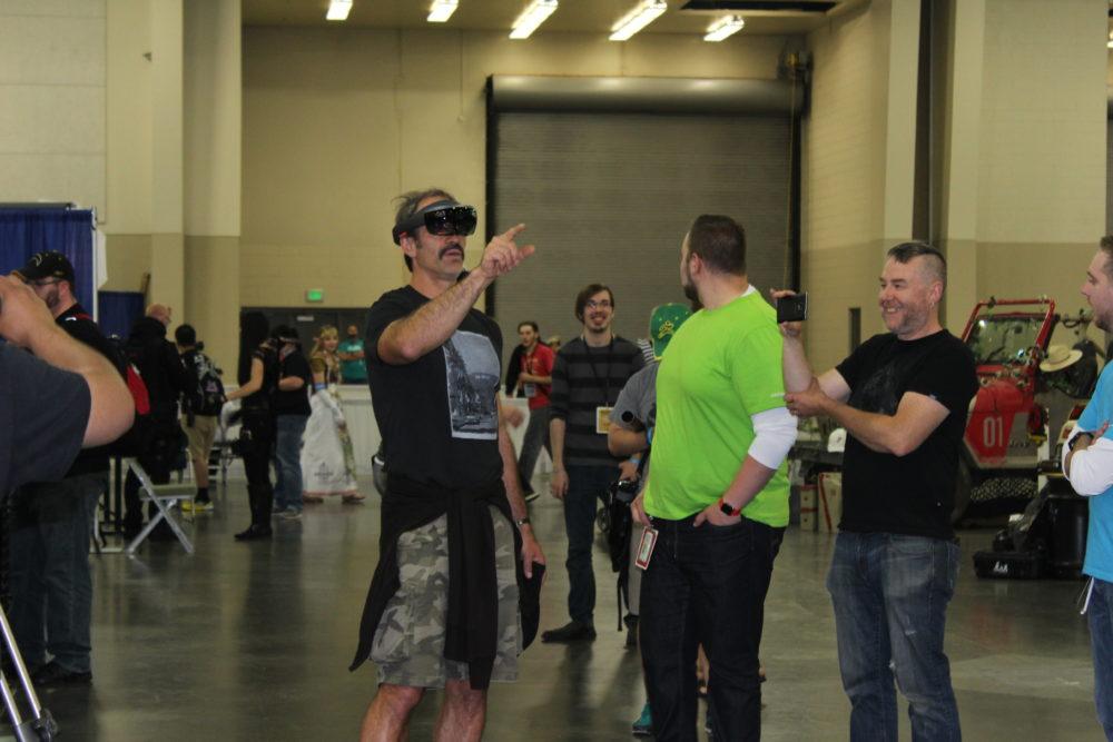 Steven Ogg Playing VR