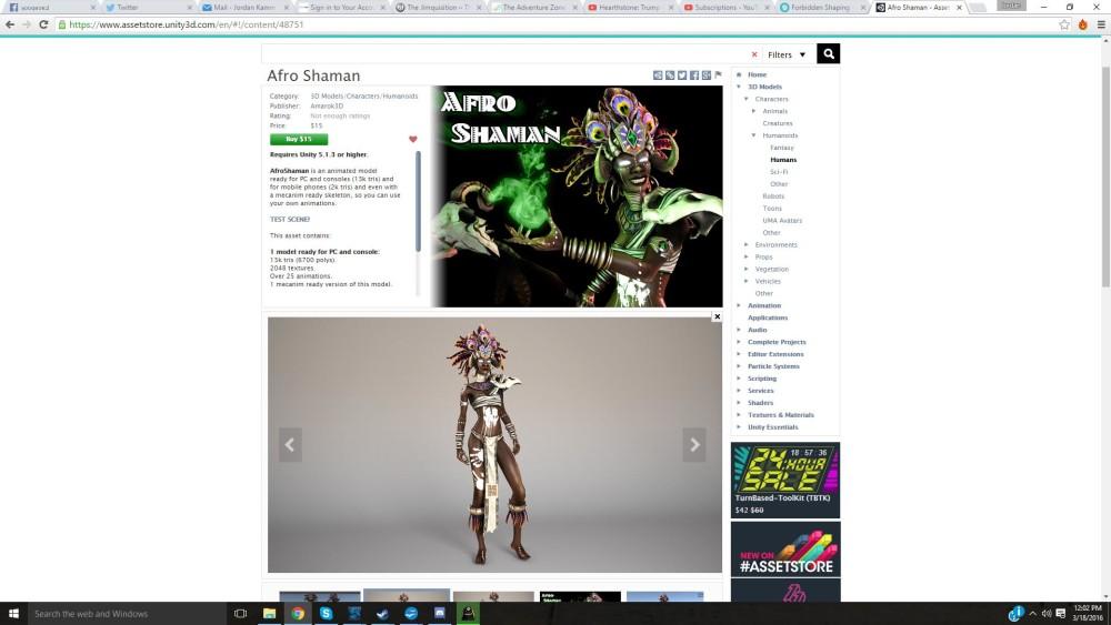 afro-shaman