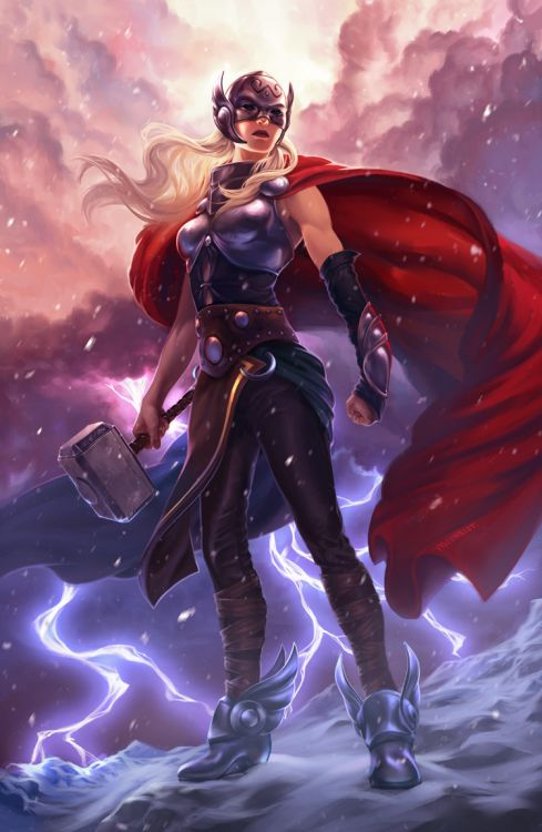 goddess of thunder is it time for a lady thor movie